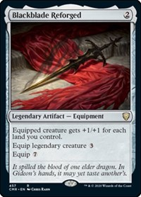 Blackblade Reforged, Magic: The Gathering, Commander Legends