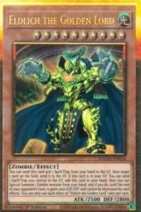 Eldlich the Golden Lord, YuGiOh, Maximum Gold