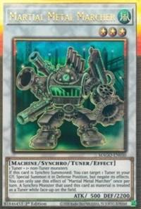Martial Metal Marcher, YuGiOh, Maximum Gold