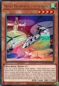 Mecha Phantom Beast Coltwing, YuGiOh, Maximum Gold