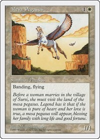 Mesa Pegasus, Magic: The Gathering, Fifth Edition