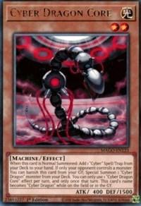 Cyber Dragon Core, YuGiOh, Maximum Gold