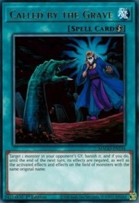 Called by the Grave, YuGiOh, Maximum Gold