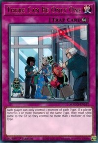 There Can Be Only One, YuGiOh, Maximum Gold