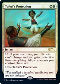 Teferi's Protection, Magic: The Gathering, Secret Lair Drop Series