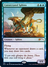 Consecrated Sphinx, Magic: The Gathering, Secret Lair Drop Series