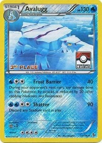 Avalugg - 31/106 (League Promo) [3rd Place], Pokemon, League & Championship Cards