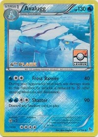 Avalugg - 31/106 (League Promo) [4th Place], Pokemon, League & Championship Cards