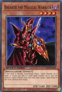 Breaker the Magical Warrior, YuGiOh, Speed Duel: Battle City Box