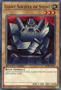 Giant Soldier of Stone, YuGiOh, Speed Duel: Battle City Box