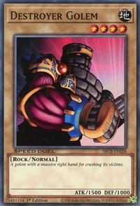 Destroyer Golem, YuGiOh, Speed Duel: Battle City Box
