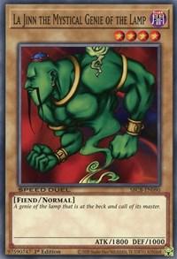 La Jinn the Mystical Genie of the Lamp, YuGiOh, Speed Duel: Battle City Box