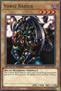 Vorse Raider, YuGiOh, Speed Duel: Battle City Box