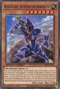 Buster Blader, the Destruction Swordmaster, YuGiOh, Speed Duel: Battle City Box