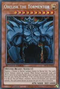 Obelisk the Tormentor, YuGiOh, Speed Duel: Battle City Box