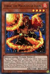 Zoroa, the Magistus of Flame, YuGiOh, Genesis Impact