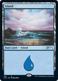 Island (103) (Bob Ross), Magic: The Gathering, Secret Lair Drop Series