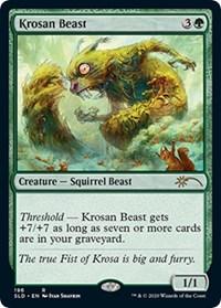 Krosan Beast, Magic: The Gathering, Secret Lair Drop Series