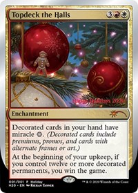 Topdeck the Halls, Magic: The Gathering, Special Occasion