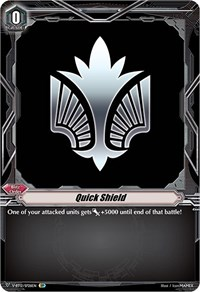Quick Shield (Angel Feather) (SP), Cardfight Vanguard, Divine Lightning Radiance