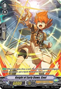 Knight of Early Dawn, Coel (SP), Cardfight Vanguard, Divine Lightning Radiance