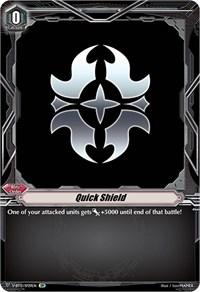Quick Shield (Gold Paladin) (SP), Cardfight Vanguard, Divine Lightning Radiance