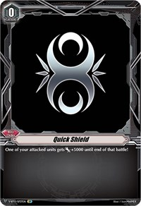 Quick Shield (Genesis) (SP), Cardfight Vanguard, Divine Lightning Radiance