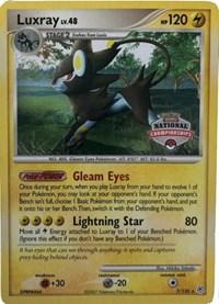 Luxray - 7/30 (National Championship Promo), Pokemon, League & Championship Cards