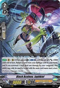 Black Aculeus, Japhkiel, Cardfight Vanguard, Divine Lightning Radiance