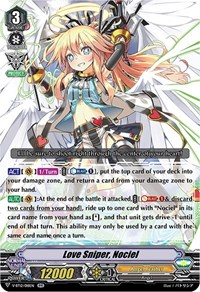 Love Sniper, Nociel, Cardfight Vanguard, Divine Lightning Radiance