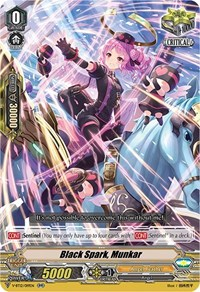 Black Spark, Munkar, Cardfight Vanguard, Divine Lightning Radiance