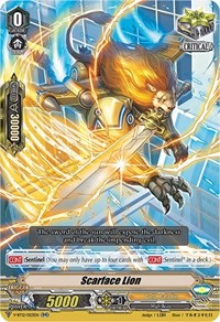 Scarface Lion, Cardfight Vanguard, Divine Lightning Radiance