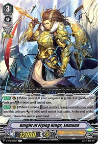 Knight of Flying Rings, Edmund, Cardfight Vanguard, Divine Lightning Radiance