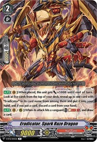 Eradicator, Spark Raze Dragon, Cardfight Vanguard, Divine Lightning Radiance