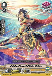 Knight of Forceful Fight, Nalnes, Cardfight Vanguard, Divine Lightning Radiance