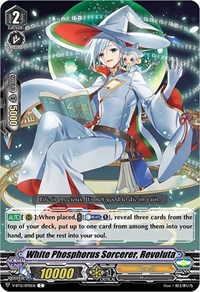 White Phosphorus Sorcerer, Revoluta, Cardfight Vanguard, Divine Lightning Radiance