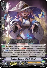 Spring Source Witch, Ficsis, Cardfight Vanguard, Divine Lightning Radiance