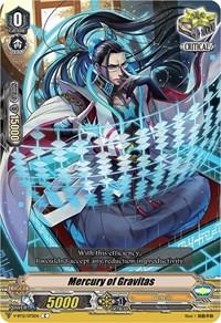 Mercury of Gravitas, Cardfight Vanguard, Divine Lightning Radiance