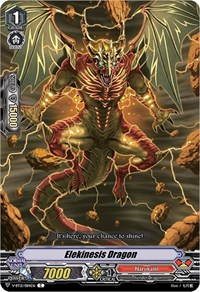 Elekinesis Dragon, Cardfight Vanguard, Divine Lightning Radiance