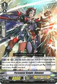 Perennial Knight, Rimmon, Cardfight Vanguard, V Promo Cards