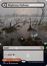 Blightstep Pathway (Borderless), Magic: The Gathering, Kaldheim