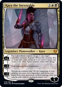 Kaya the Inexorable, Magic: The Gathering, Kaldheim