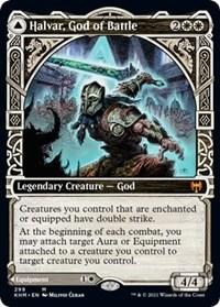 Halvar, God of Battle (Showcase), Magic: The Gathering, Kaldheim