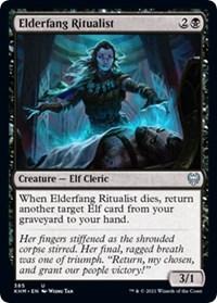 Elderfang Ritualist, Magic: The Gathering, Kaldheim