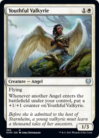 Youthful Valkyrie, Magic: The Gathering, Kaldheim