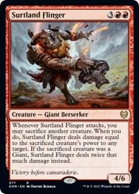 Surtland Flinger, Magic: The Gathering, Kaldheim