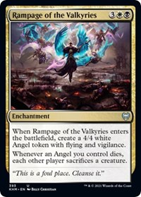 Rampage of the Valkyries, Magic: The Gathering, Kaldheim