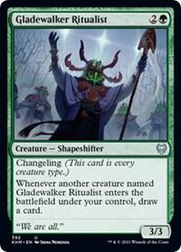 Gladewalker Ritualist, Magic: The Gathering, Kaldheim