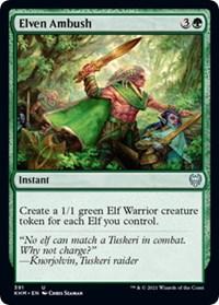 Elven Ambush, Magic: The Gathering, Kaldheim