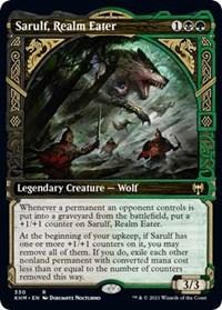 Sarulf, Realm Eater (Showcase), Magic: The Gathering, Kaldheim